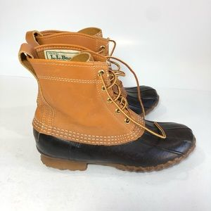 LL Bean Maine Hunting Shoes Duck Boots